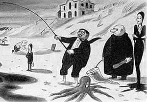 The Addams Family Cartoon by Charles Addams