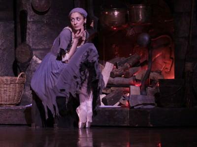 cinderella at the joffery ballet