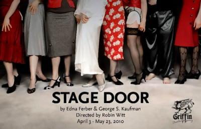 stage door by ferber & kaaufman, griffin theatre