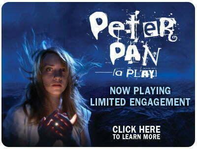 peter pan at lookingglass theatre