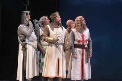 spamalot at drury lane theatre