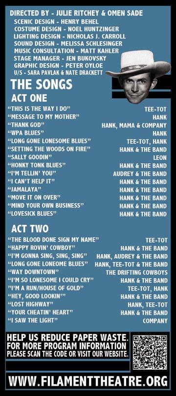 Hank Williams: Lost Highway - Theatre reviews