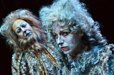 CATS Heidi Kettenring as Grizabella with Matthew R. Jones