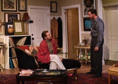 Mendy-JP-Pierson-and-Stephen-Joe-McCauley-bicker-in-Eclipse-Theatres-THE-LISBON-TRAVIATA.-Photo-by-Scott-Dray.